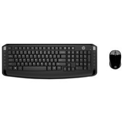 Клавиатура и мышь HP 3ML04AA Wireless Keyboard and Mouse 300 Black USB