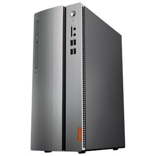 Настольный компьютер Lenovo 510S-07ICB (90K8001VRS) Mini-Tower/Intel Celeron G4900/4 ГБ/128 ГБ SSD/Intel UHD Graphics 610/DOS