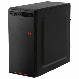 Настольный компьютер iRu Home 120 MT (1187716) Mini-Tower/AMD E1-2500/4 ГБ/240 ГБ SSD/AMD Radeon HD 8240/DOS